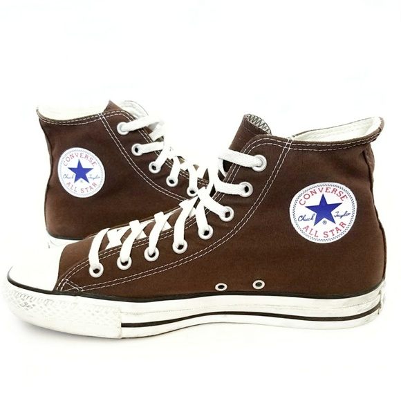 fc24823567 Converse Shoes | Chuck Taylor All Star High Top Chocolate Brown ...